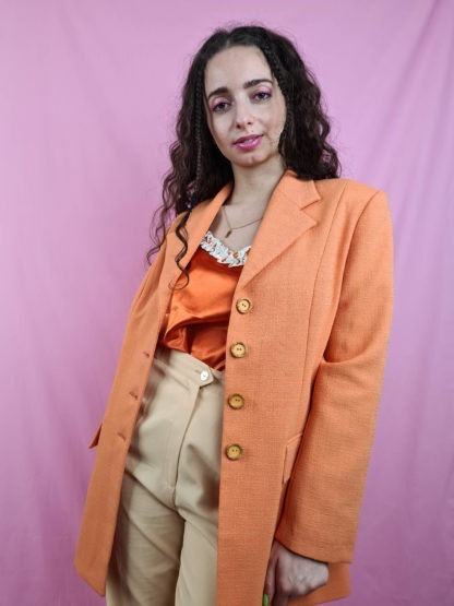 veste blazer orange (3)