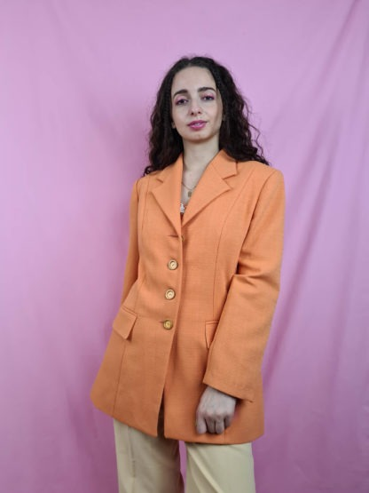 veste blazer orange (4)
