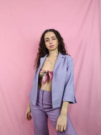 veste lilas chinée vintage (1)