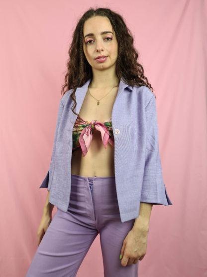veste lilas chinée vintage (8)