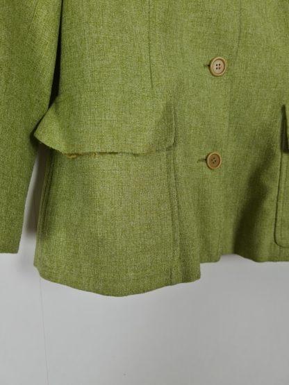 veste mi-longue vert anis (10)