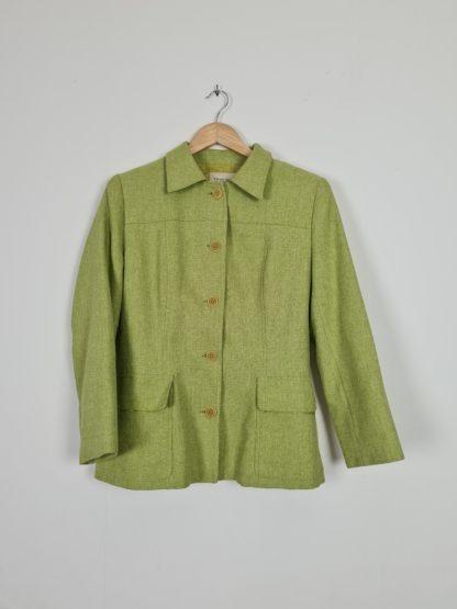 veste mi-longue vert anis (9)