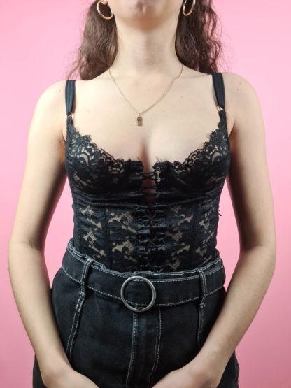 bustier noir dentelle clé (5)
