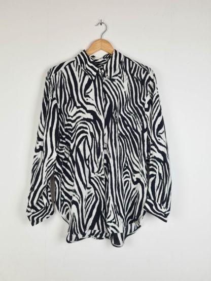 chemise à motif zèbre (8)