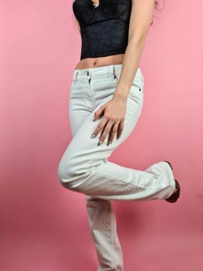 jean blanc taille basse (2)