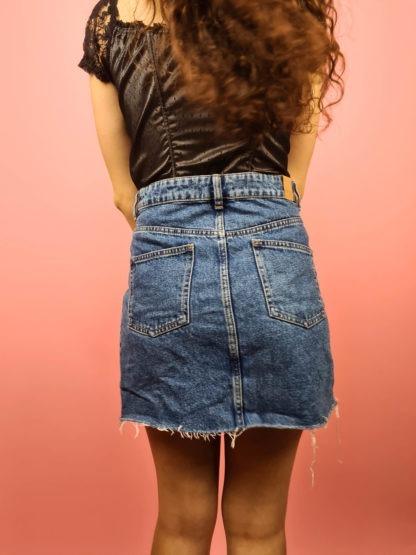 jupe en jean à boutons (2)