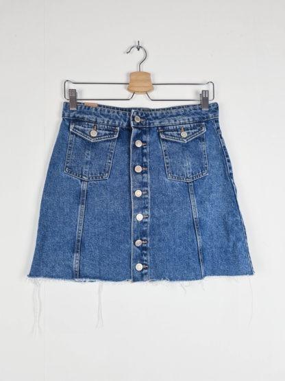 jupe en jean à boutons (5)