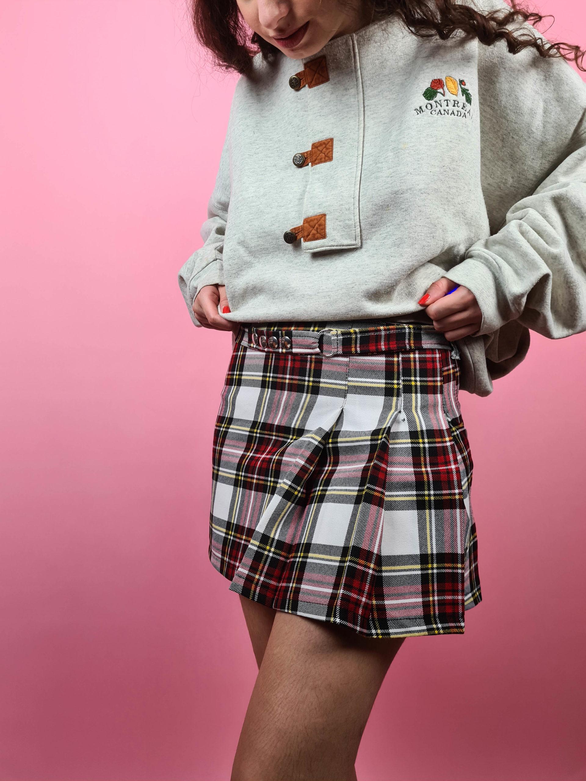 petite jupe plissée tartan (6)