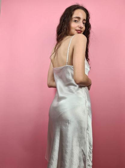 robe nuisette blanche broderies fleuris (4)