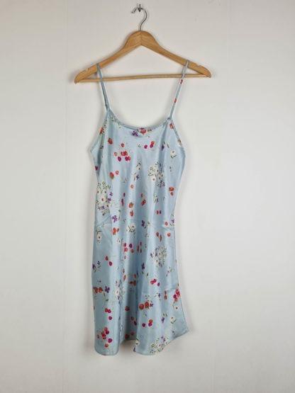 robe nuisette bleue pastel motif fruits (8)