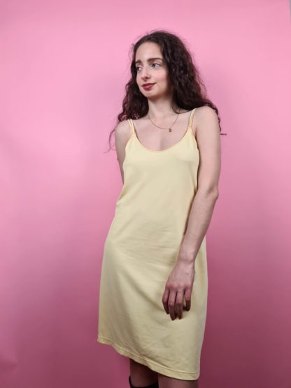 robe nuisette jaune pastel (1)