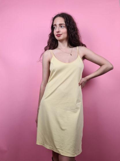 robe nuisette jaune pastel (2)
