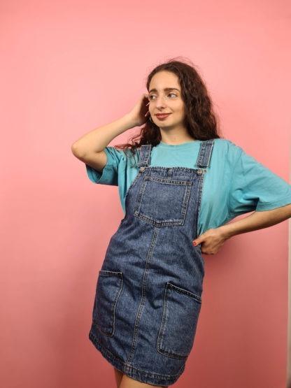 robe salopette en jean (3)