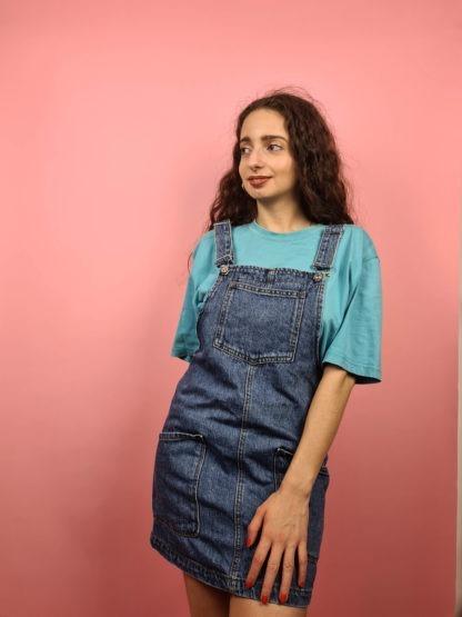 robe salopette en jean (4)