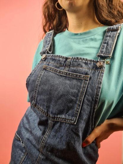 robe salopette en jean (5)