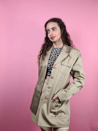veste blazer camel clair (4)