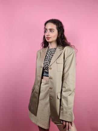 veste blazer camel clair (7)