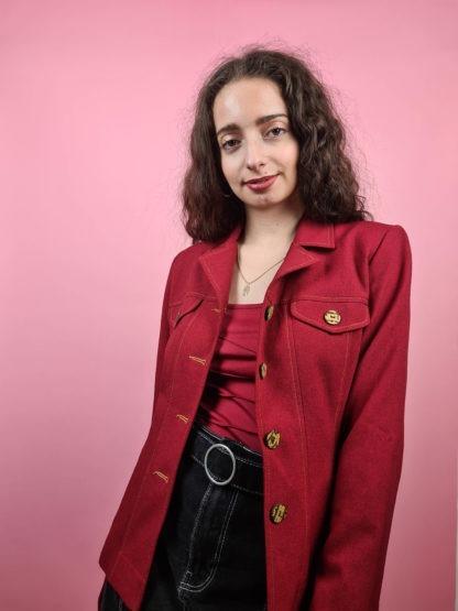 veste rouge ceinture (3)
