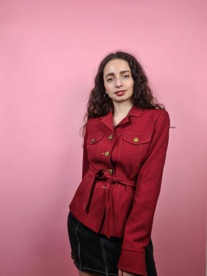 veste rouge ceinture (6)