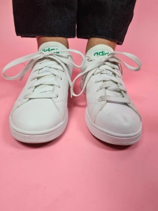 baskets blanches Adidas (2)