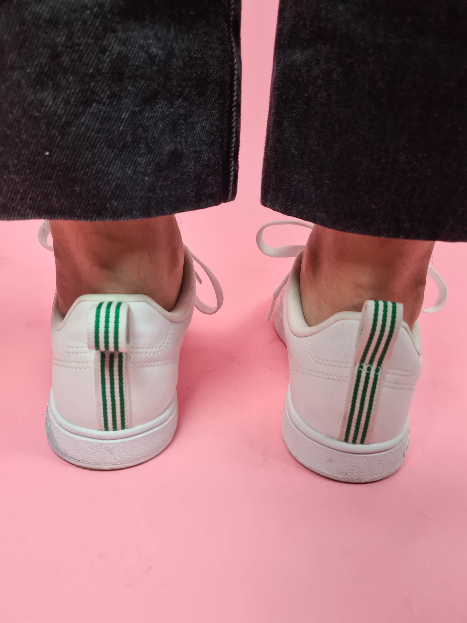 baskets blanches Adidas (3)