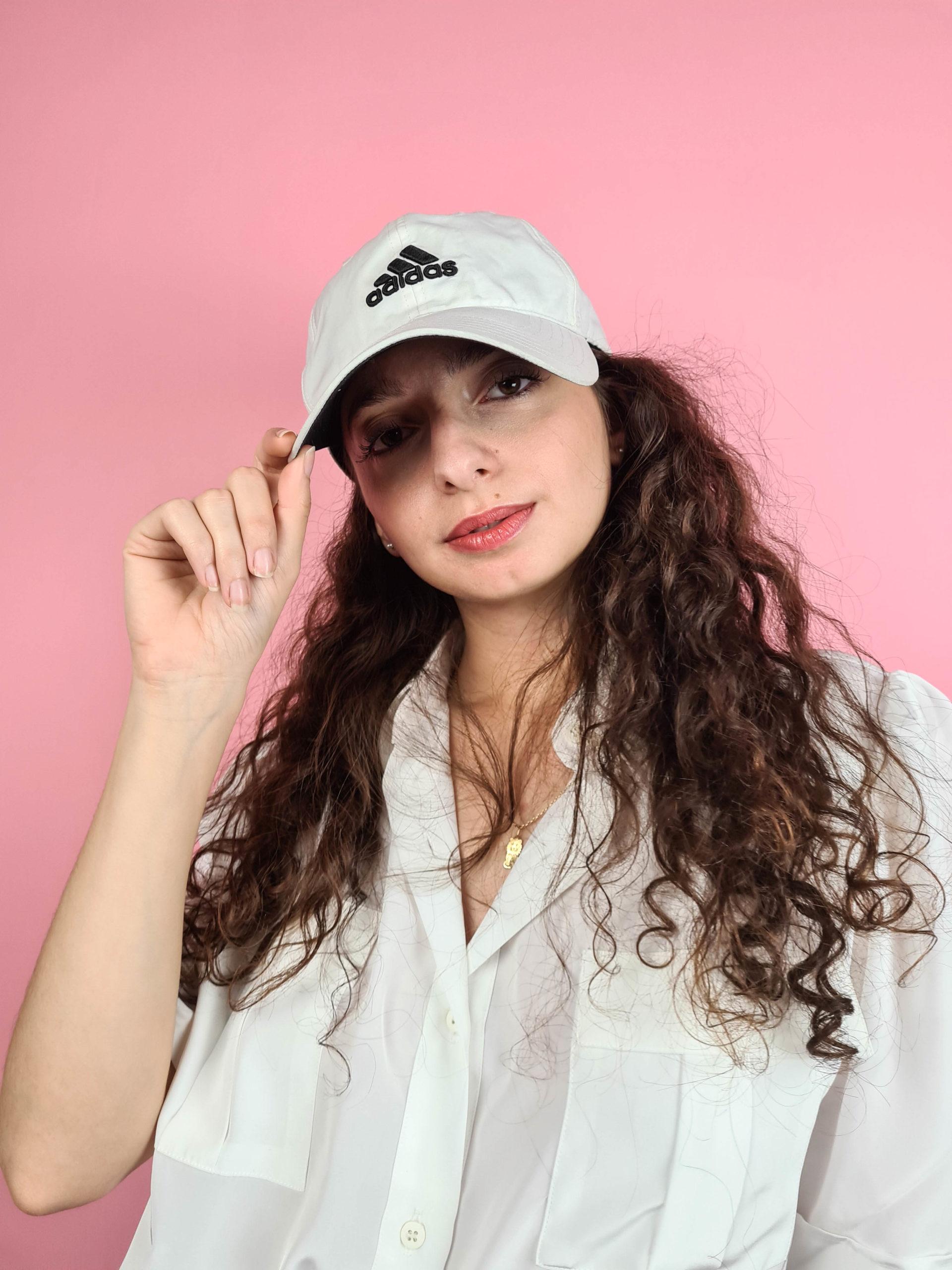 casquette blanche Adidas (1)