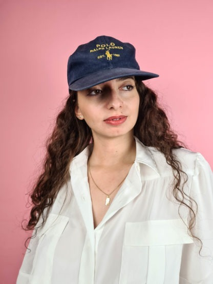 casquette bleue Ralph Lauren (1)