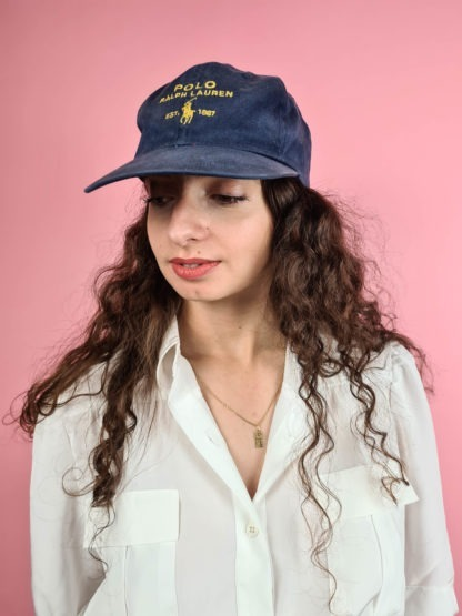 casquette bleue Ralph Lauren (4)