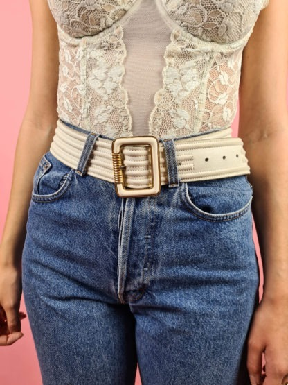 ceinture blanche et dorée (3)