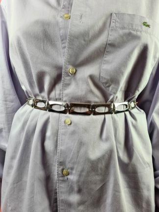 ceinture chaîne argentée rectangle (4)