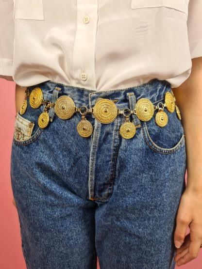 ceinture chaine dorée pendante (2)