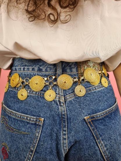 ceinture chaine dorée pendante (4)