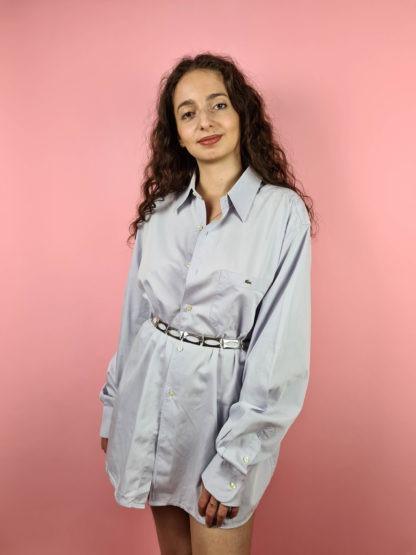 chemise d'homme bleue Lacoste (1)