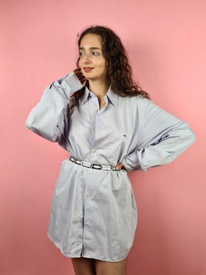 chemise d'homme bleue Lacoste (4)