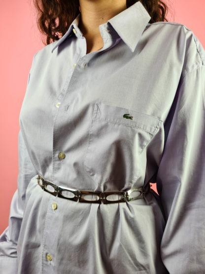 chemise d'homme bleue Lacoste (8)
