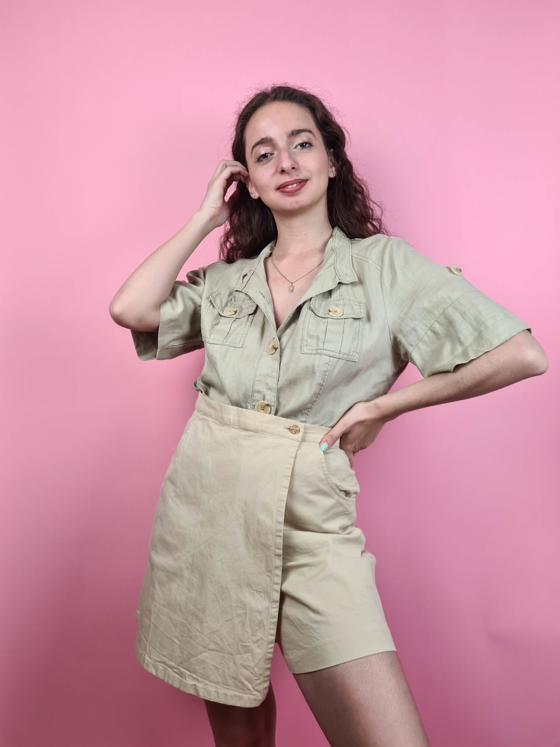 chemise manches courtes safari (2)