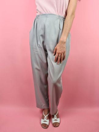 pantalon à pince lilas taille haute (8)