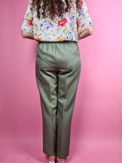 pantalon à pince vert (8)