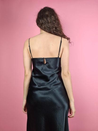 robe nuisette longue noire (5)