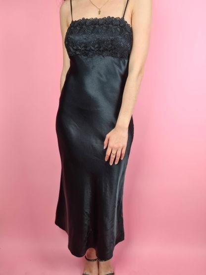 robe nuisette longue noire (8)