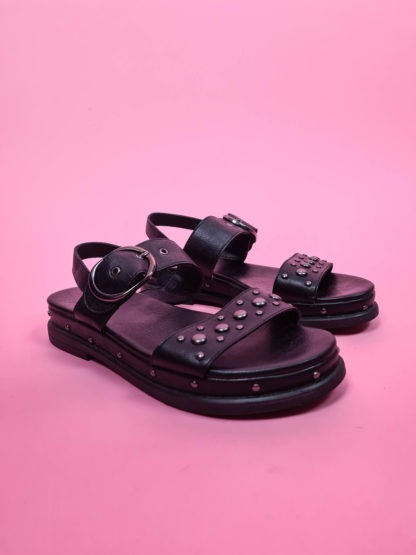 sandales à plateforme noire (1)