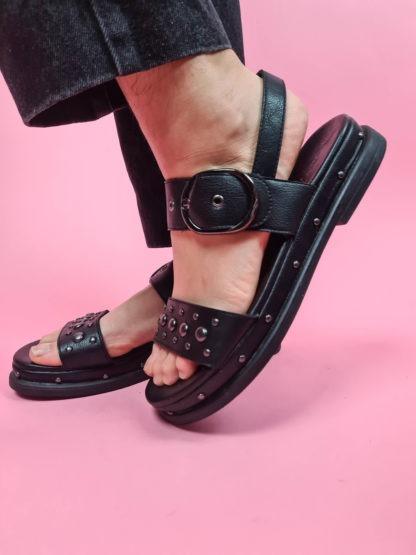 sandales à plateforme noire (7)