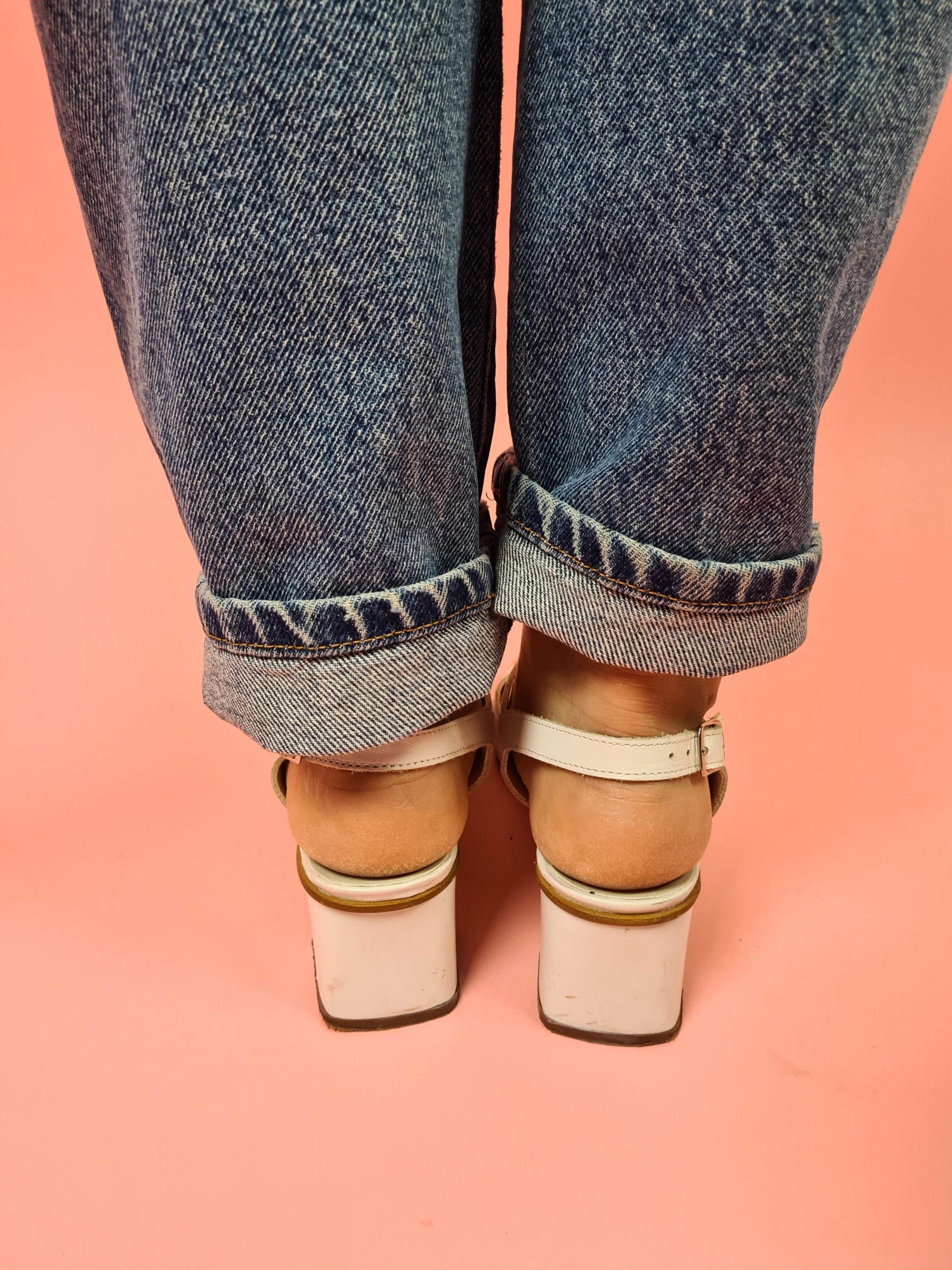 sandales d'été blanches à bride (4)