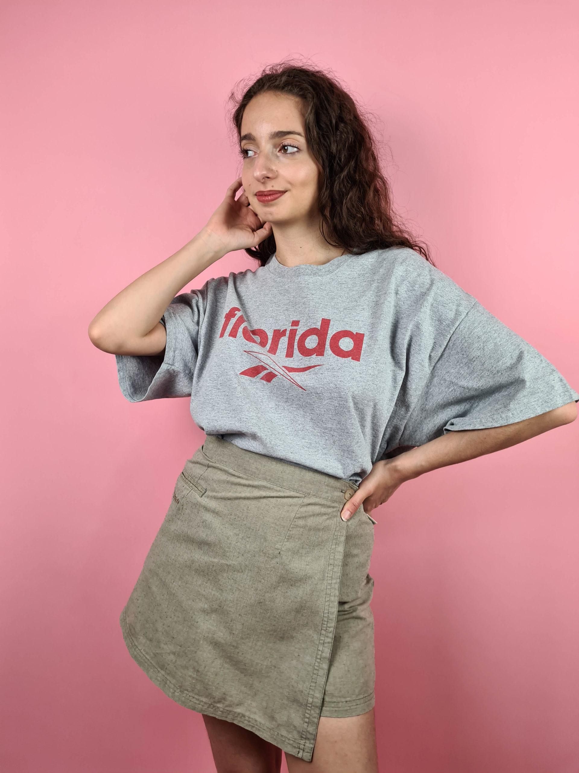 t-shirt gris Florida Reebok (4)