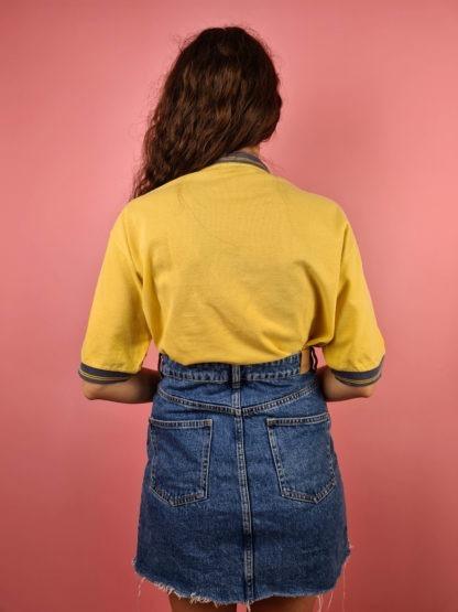 t-shirt jaune et bleu Sergio Tacchini (5)