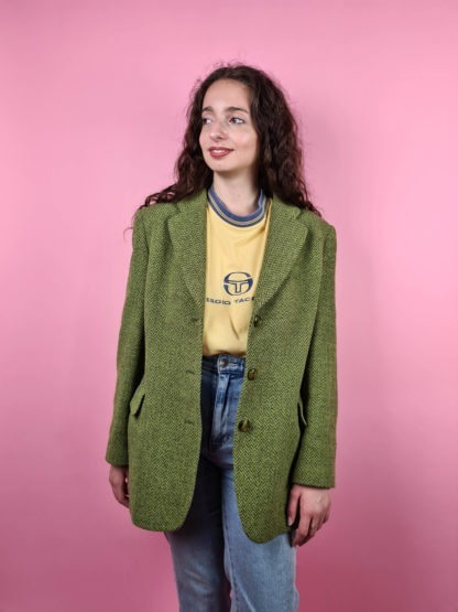 veste blazer vert anis (2)