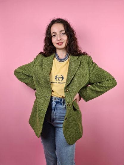 veste blazer vert anis (5)