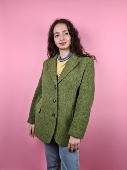 veste blazer vert anis (6)
