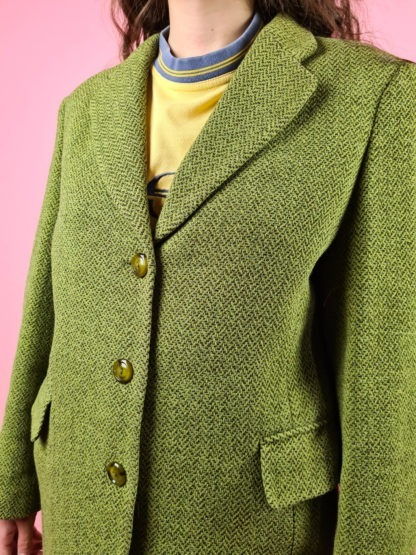 veste blazer vert anis (9)